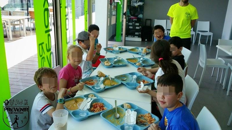 comida saludable niños