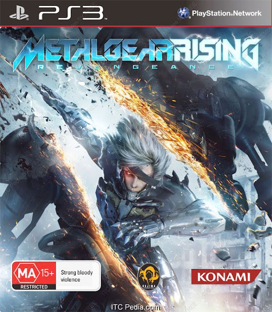Metal Gear Rising Revengeance USA PS3 - Kirin