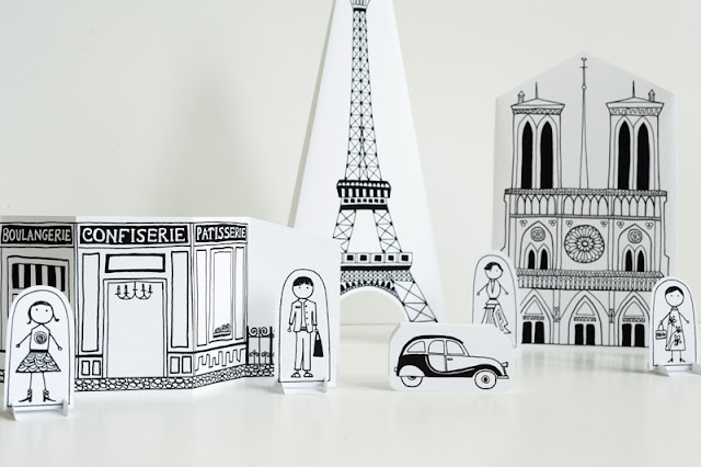 {Craft} Made by Joel | Paris Paper city
