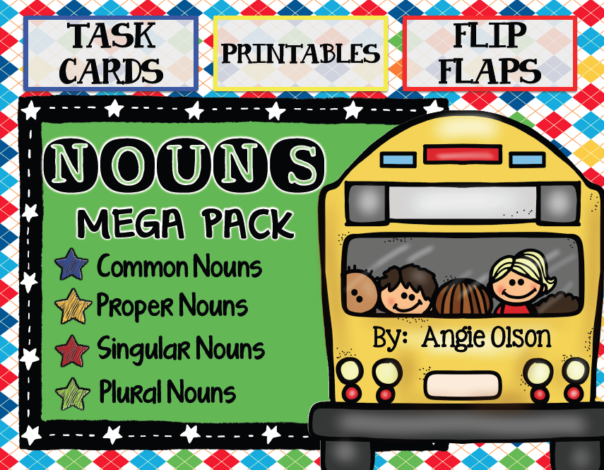 https://www.teacherspayteachers.com/Product/Nouns-Mega-Pack-Task-Cards-Printables-and-Flip-Flaps-1388279