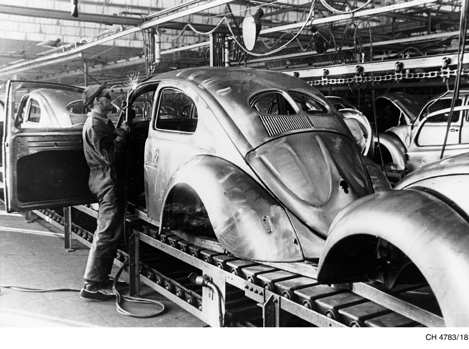 a history of the production of volkswagen beetle The world's most valuable volkswagen beetle that  the beetle holds the world record for production of  volkswagen beetle in history and also.