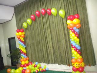 balon gate - Dalam Gedung