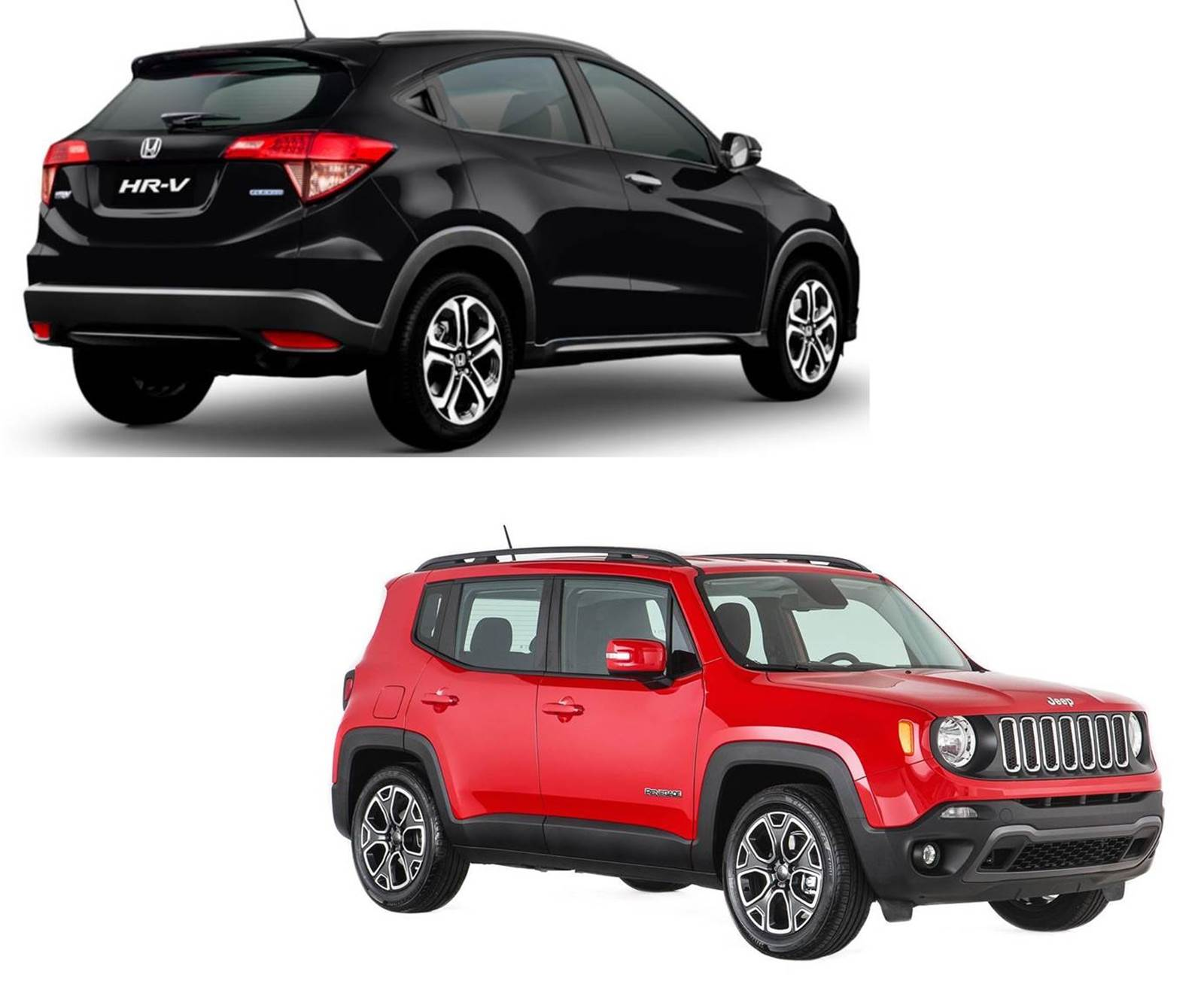 Jeep Renegade x Honda HR-V