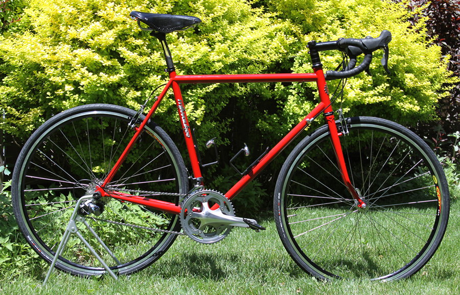 Ben S Cycle Hot Off The Stand Fire Engine Red Road Bike