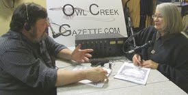 "OWL CREEK RADIO Presents  ""Creekside with Don and Jan""  ---- Just Click on Our Photo to Listen!"