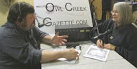 """Creekside with Don and Jan""  ---- Just Click on Our Photo to Listen!"