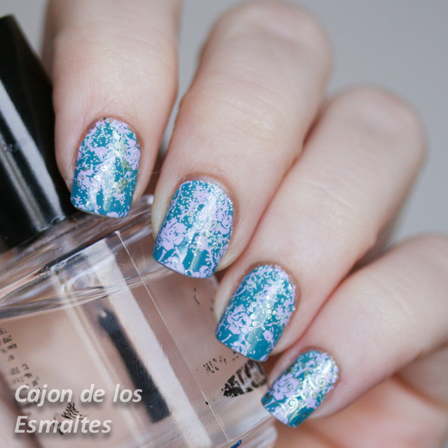 Stamping  Moyou London Pro collection 08