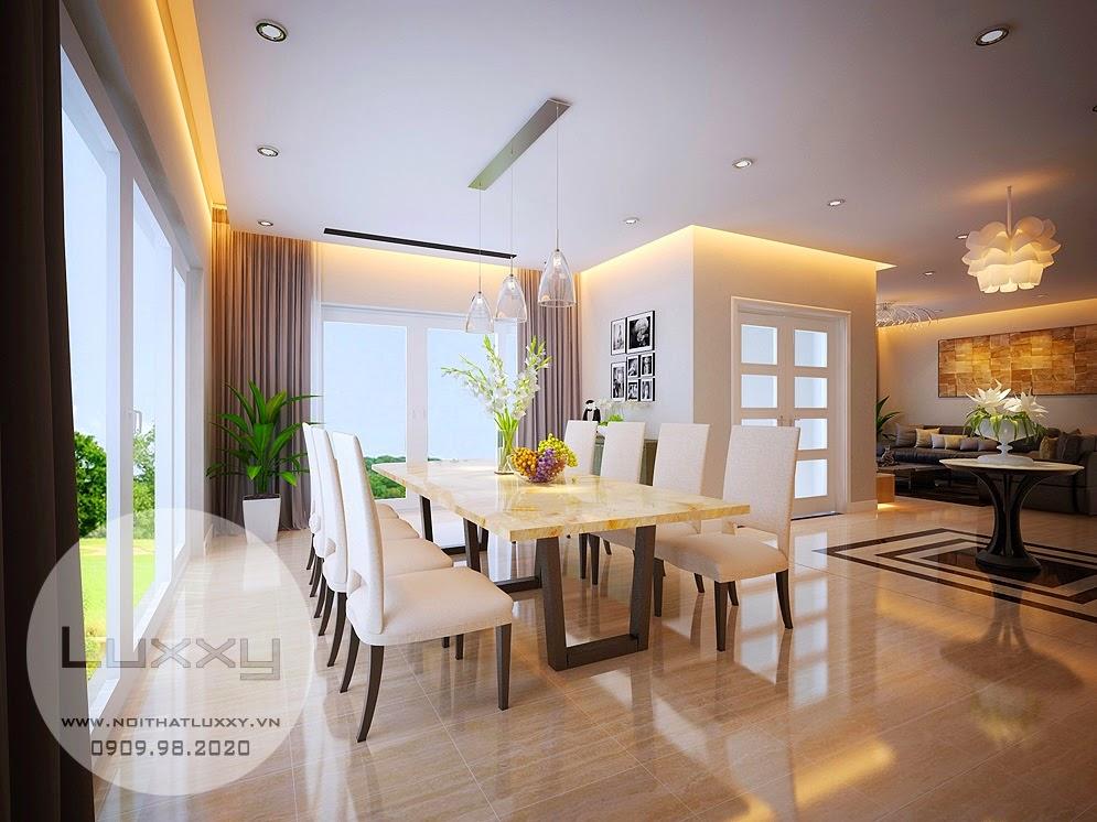 Thiết kế nội thất Biệt Thự sinh thái Ecopark đẹp hiện đại