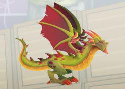 imagen del dragon wyvern
