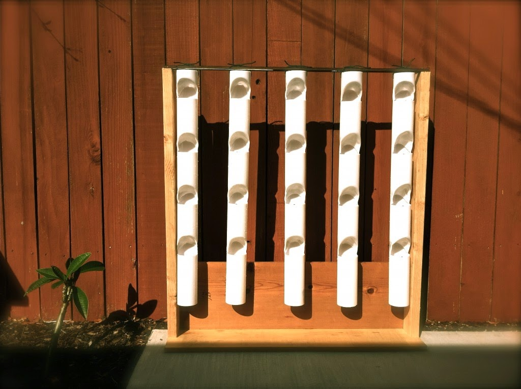 Jode designs diy day create a vertical garden for Diy vertical garden wall