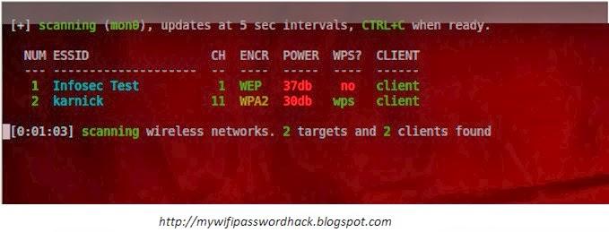 Wifi Scaning/Hacking Password