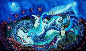 Cómo sería un mundo azul?
