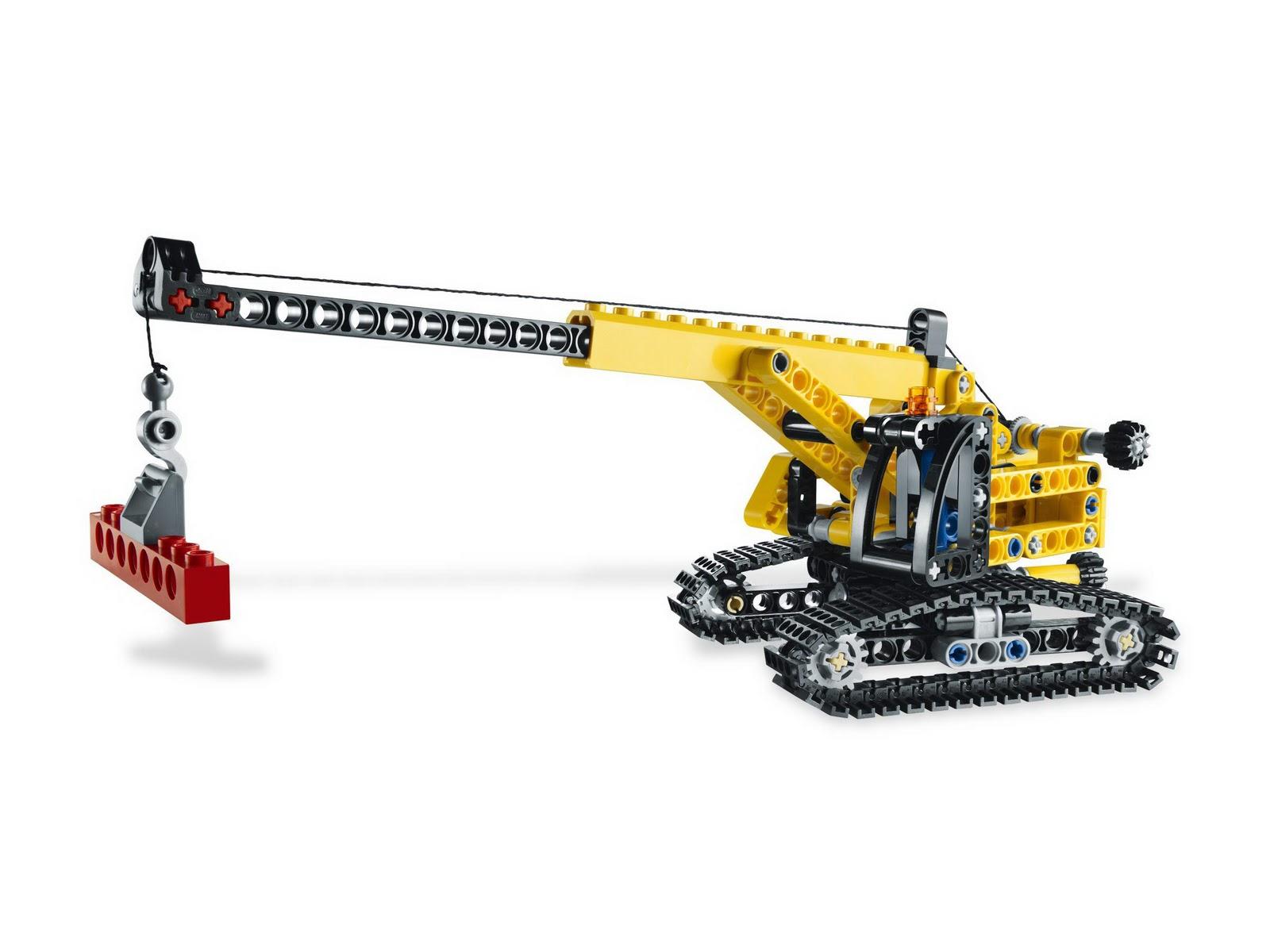 LEGO gosSIP: 231211 LEGO 9391 Mini Crane pictures