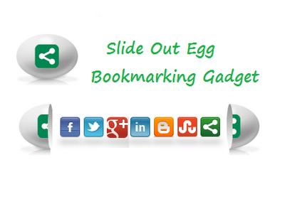 Open Egg Social Shareing Widget for Blogger