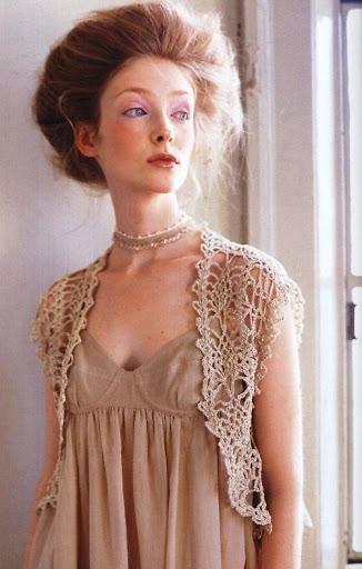 Bolero elegante a Crochet