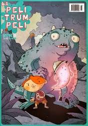 """""""La Pelitrúmpeli nº8"""" revista infantil. Asociación cultural Moixama. 03/ 2013"""