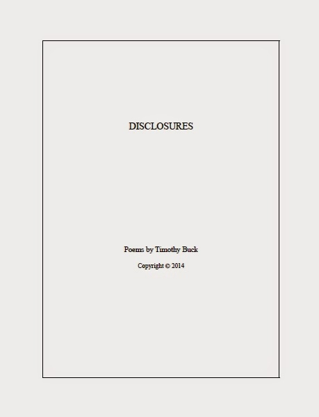 Disclosures (Poems)