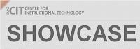 CIT (Center for Instructional Technology) Showcase logo
