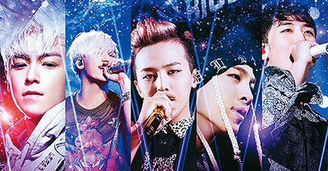 映画 BIGBANG;BEST LIVE SELECTION 2012-2015