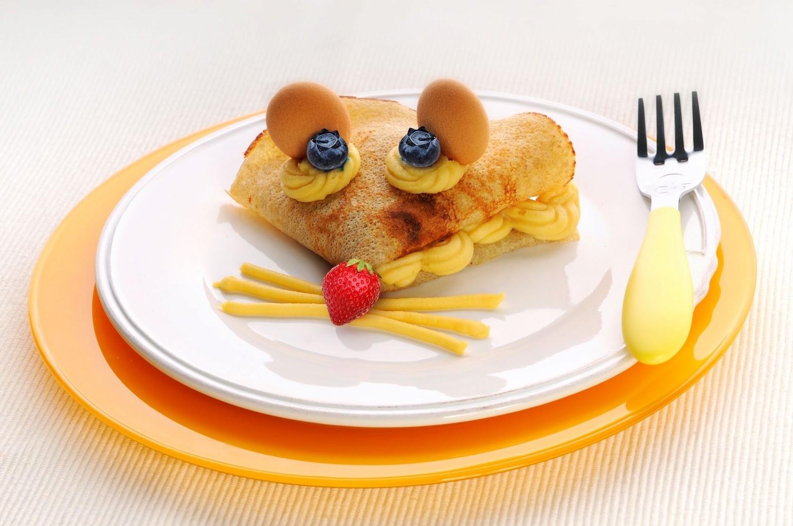 Jedlo pre deti zábavnou formou