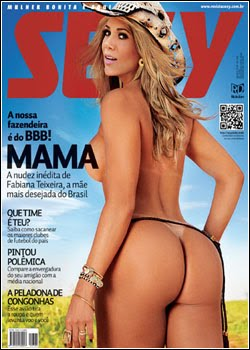 Revista Sexy Fabiana Teixeira BBB12