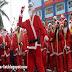 Gara-gara Mabuk, Sinterklas Ini Mengalami Kecelakaan