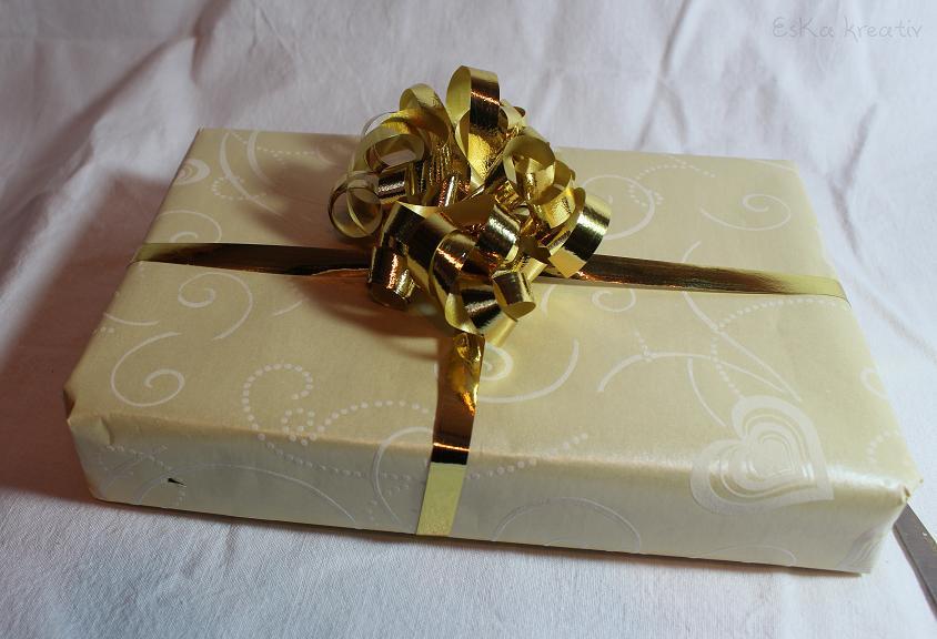 Eska kreativ tipps von der verpackungsfee for Schleife binden geschenk
