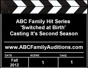 ABC Family Switched at Birth Casting Auditions
