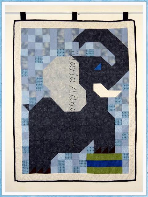 Panô patchwork, Elefante patchwork, Painel pachwork, Panôs patchwork, Painéis patchwork, revista patchwork, publicado revista, Maria Adna