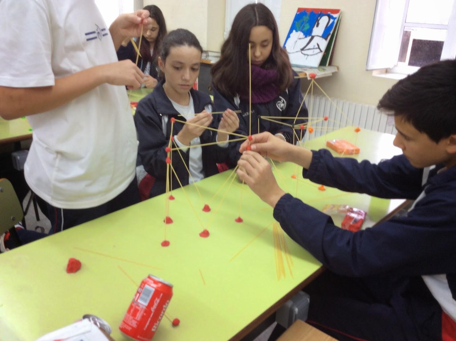 Construir estructuras de espaghetis Tecnología