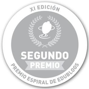 Peonza de Plata de los Premios Edublogs