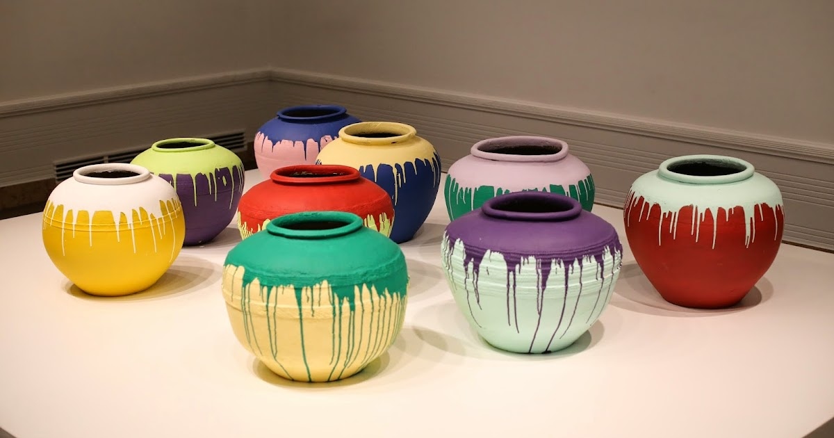 Monkey Puzzle Blog Ai Weiwei Colored Vases