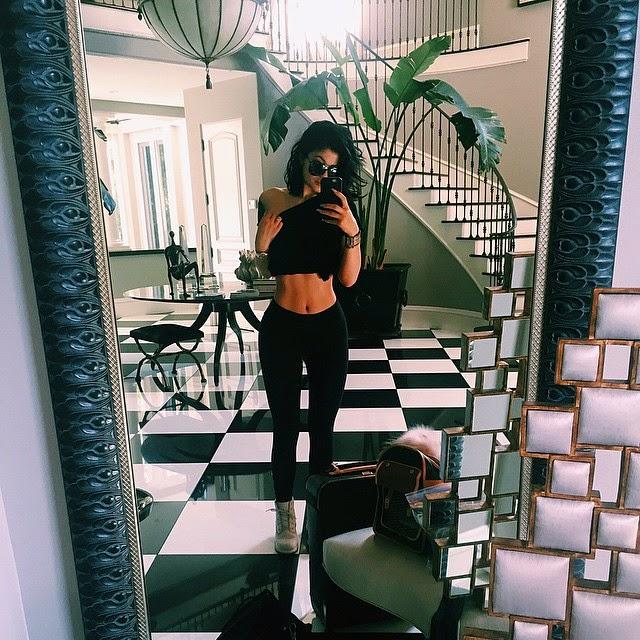 Kylie Jenner en un nuevo photoshop