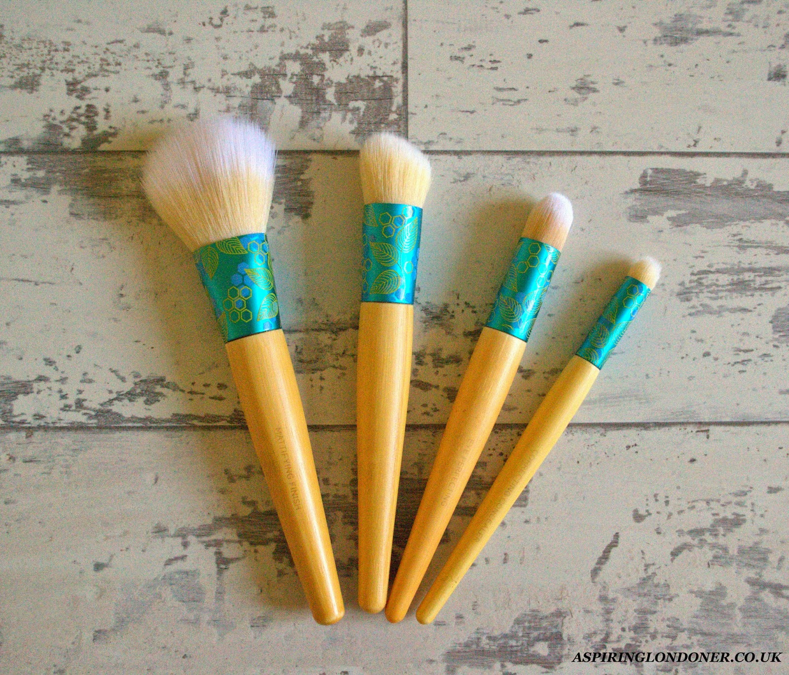 ecoTools Complexion Collection Makeup Brush Review - Aspiring Londoner