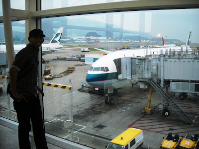 Hongkong International Airport Boarding Lounge