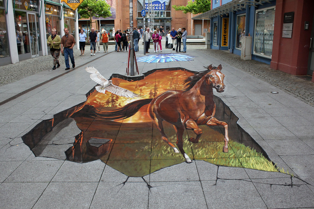 Street art digital hd photos for 3d street painting mural art