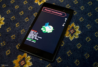 Instructions on how to use the Nexus 7 ToolKit