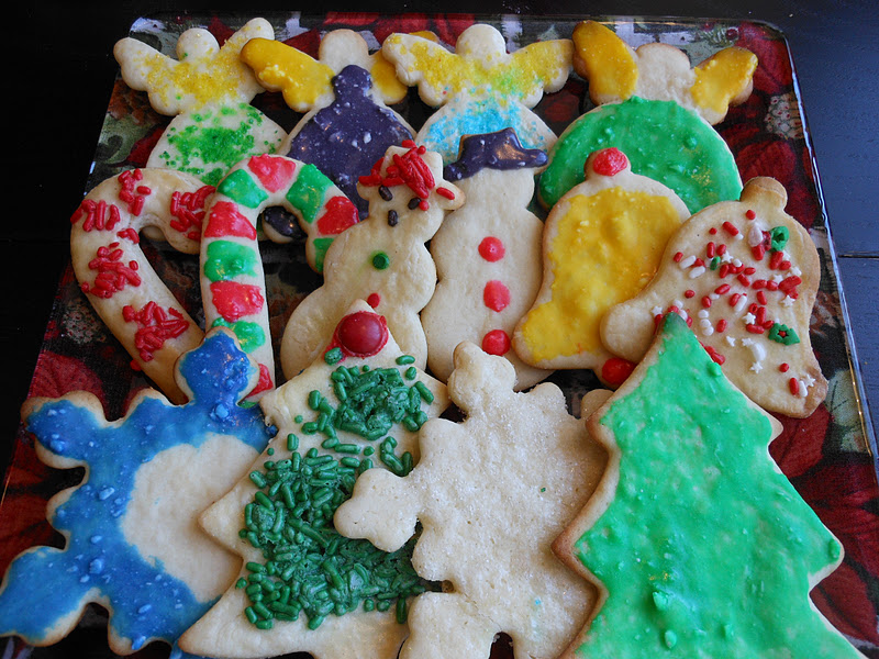 Flavors by Four: Christmas Cookie #10 - Cream Cheese Cutouts