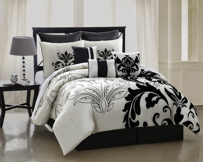 Black And White California King Bedding Sets