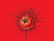 Tomatazo y Frutas Podridas por la Educación - 23/09/2011