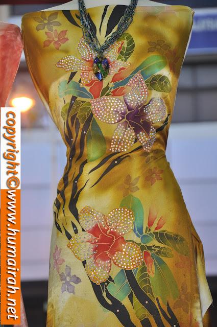 Bunga Lalang, Ombak Rindu Abstrak Exclusive - BATIK SUTERA 6