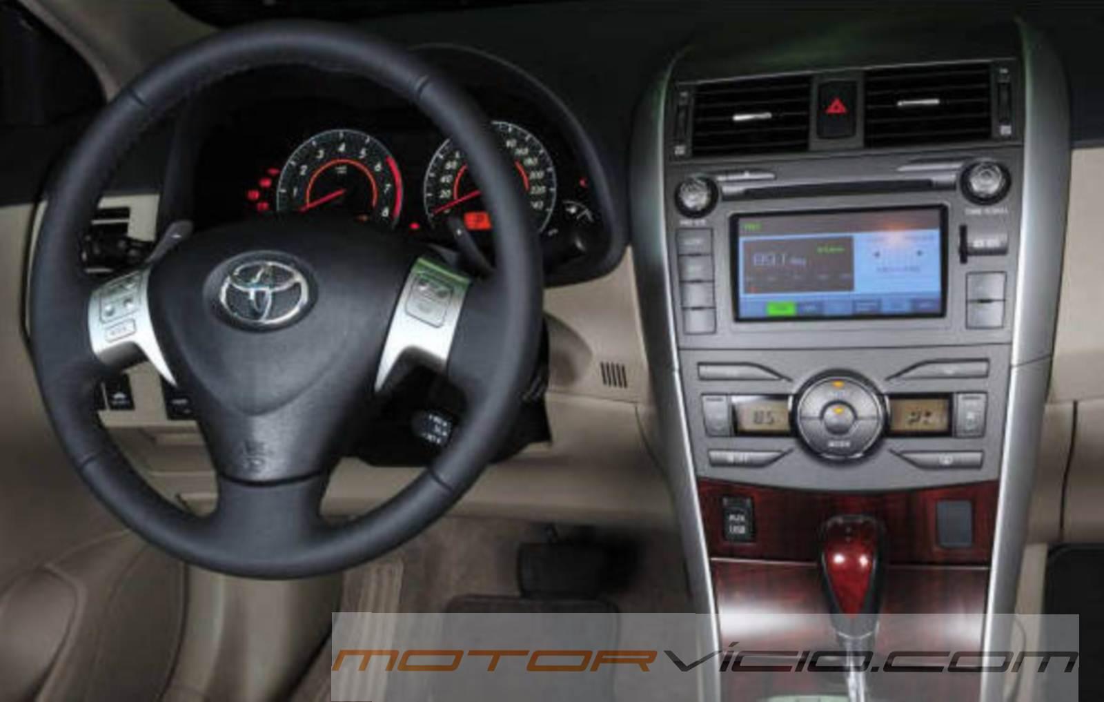 Toyota Corolla 2014 - central multimídia