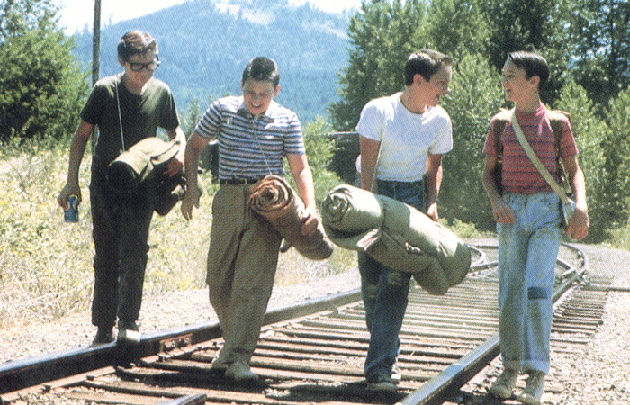 the body and stand by me They were kids that had already lost their innocence to crazy and uncaring households the body symbolized the end of their childhood stand by me is the best movie ever made.
