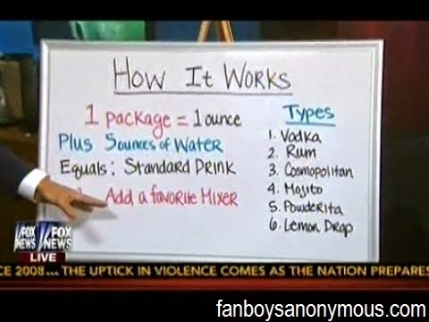 Palcohol patent featured and explained on Fox News