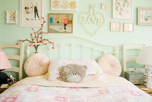 Mooie meiden slaapkamer for - Kleur van kamer voor meisje ...