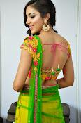 Reetu varma sizzling in half saree-thumbnail-15