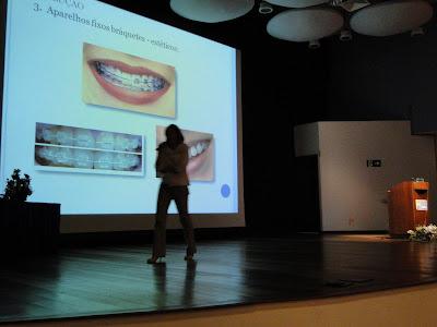 DSC03551 - Dra. Andrea Martinez dá palestra do Clear Aligner na Puc Campinas