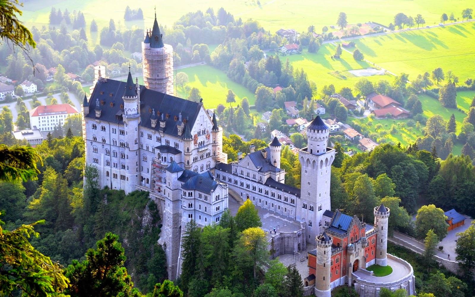 El Castillo Neuschwanstein en Alemania