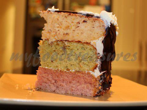 My Food Treasures Joan S Rainbow Cake