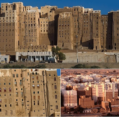 Yemen's Ancient Mud Skyscraper City